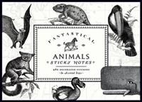 8,70€. Vintage Prints Fantastical Animals Sticky Notes