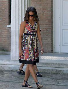 Michelle Obama's U.K. Tour Outfits Will Make You Fall in Love With Her Style All Over Again-Summer 2015