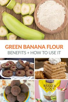 Green Banana Flour - what is it? what are the nutritional benefits? how to use it in paleo and gluten-free cooking? # what is Nutrition What Is Green Banana Flour & How To Use It - Irena Macri Banana Recipes, Paleo Recipes, Real Food Recipes, Cooking Recipes, Flour Recipes, Recipes With Plantain Flour, Fancy Recipes, Free Recipes, Banana Allergy