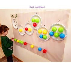 Easy, fun and effective counting activity 26 fun and easy activities and crafts for kids on cold winter days – Artofit Image may contain: 1 person Toddler Learning Activities, Preschool Crafts, Preschool Activities, Teaching Kids, Kids Learning, Activities For Kids, Learning Games, Art Montessori, Kids Crafts