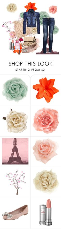 """""""Spring.."""" by sladjana-simic ❤ liked on Polyvore featuring Zara, ASOS, Monsoon, H&M, Moschino Cheap & Chic, RoomMates Decor, Steve Madden, Lancôme and Victoria's Secret"""