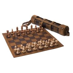 Leather Tournament Chess Set