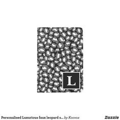 Shop Personalised Luxurious faux leopard skin print Passport Holder created by Koovox. Passport Holders, Passport Wallet, Travel Style, Luxury, Stylish, Cover