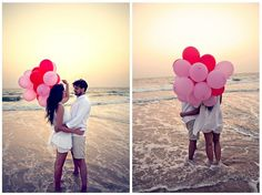 a lovely pre wedding shoot in Goa