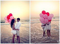 a lovely pre wedding shoot in Goa