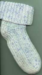 Bev's Quick Knit 2 Needle Socks