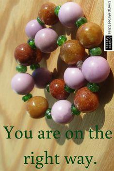 * braune JADE CHROMDIOPSID PHOSPHOSIDERIT ARMBAND *VerbesserungenZulassenKönnen* Reiki Meditation, Jade, Healing, Gemstones, Ebay, Fruit, Bracelets, Gems Jewelry, Stone Bracelet