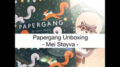 Papergang November 2018 - Unboxing! Ohh Deer, November, Bullet Journal, Calligraphy, Youtube, Movie Posters, Gifts, November Born, Penmanship