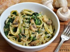Spinach & Artichoke One pot pasta - Budget Bytes