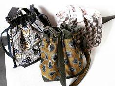 VINCENT Veronique sur Instagram: Trois sacs #calypso de #sacôtin pour le noël de mes nieces #handmade #faitmains #sacotincalypso tissu en jacquard #mondialtissu et…