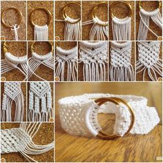 DIY Two Ring Closure Macrame Bracelet with Tutorial