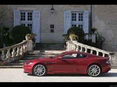 2009 Aston Martin DBS Infa Red Wallpaper