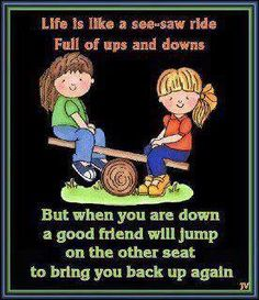 So true...just dont do me wrong cz as bad as it'll hurt to see you  down, i would be a FOOL to help you again!!!!