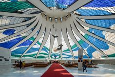 Oscar Niemeyer, (December 15, 1907 – December 5, 2012) was one of the greatest architects in Brazil's history, and one of the greats of the modernist movement.