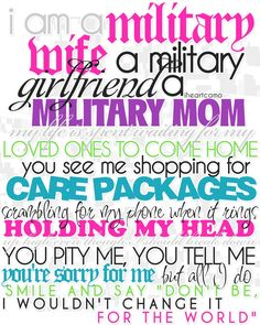 I am a military wife... (made by me!) my-marine-wife-life#Repin By:Pinterest++ for iPad#