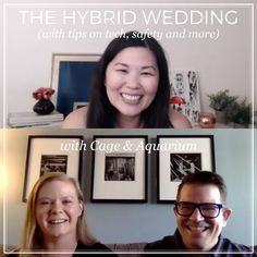 Weddings have changed, so we're talking about the new way to wed. What you need to know, what you can do, some DIY tips, and how to keep your wedding safe. And we're bringing in experts in their fields to provide additional planning tips around virtual, hybrid and micro and COVID weddings. In this video, Jamie Chang, planner at Mango Muse Events, creator of Passport to Joy, and founder of Let's I Do this! talks with the lovely folks at Cage & Aquarium, a DJ and photography company. Wedding Planning Tips, Wedding Planner, Destination Wedding, Alternative Wedding, What You Can Do, The Creator, Dj, How To Plan, Couples