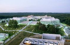 CIA new exit ( aerial view )