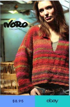 9b4890b812c020 Noro Unlimited - Jane Ellison -Knitting Patterns 12 Garments 3 Accessories Women  Knit Cardigan