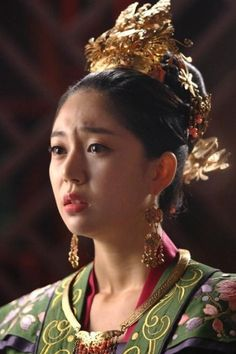 Baek jin hee starring in Empress Ki