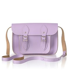 Color Us Pink (And Lavender, And Baby Blue): Cambridge Satchels Now In Pastels!