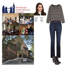 """Visiting the American International Church, 79a Tottenham Court Road, London, W1T 4TD"" by new-generation-1999 ❤ liked on Polyvore featuring Monsoon and kitchen"