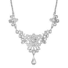 Vintage Cluster Necklace - Bridal jewellery - Jewellery - Women -