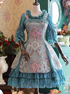 Sweet Lolita Jumper Skirt Afternoon Tea Of Windsor Lolita JSK