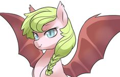 ahlsjdfhaksldjfh still not feeling ponies yet but whatever Didn't upload anything yesterday because I was attempting to draw pony stuff but nothing was happening. Lop suggested bat pony Anthea whic...