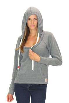 The Brooklyn is a super soft tri blend pullover hoody that provides the perfect combination of comfort and style. #womens #fashion #loungewear
