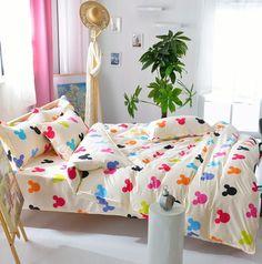 Duvet Cover/ Sheet / Pillowcase Set Mouse