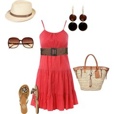 I think by this summer, I might just be brave enough to wear something like this! minus the slippers ;)