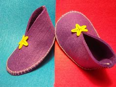 Filcové papučky ::