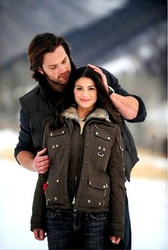 Jared and Genevieve. Oh I just love this picture <3 Absolutnie piękne...
