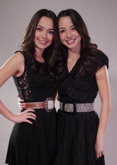 The Merrell Twins Vanessa (left) & Veronica (right) http://m.youtube.com/user/merrelltwins