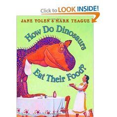 28 best childrens books dinosaurs images on pinterest baby how do dinosaurs eat their food fandeluxe Image collections