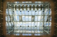 Looking UP at #Harvard Art Museums (HAM) #CambMA #CambridgeMA