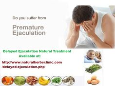 As men grow older seasoned and testosterone levels drop with age, untimely discharge doubtlessly sets in. In this article, we take a gander at nourishments that cure premature ejaculation. These foods can be seen as Delayed Ejaculation Natural Treatment and can possibly support testosterone levels in men.... http://delayedejaculationnaturaltreatment.blogspot.com/2016/08/delayed-ejaculation-natural-treatment.html