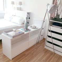 Wir finden: Très chic die neue Schlafzimmereinrichtung von Caro. http://www.followthepinkfox.com/