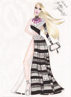 Fashion Figure Drawing, Fashion Drawing Dresses, Fashion Illustration Dresses, Fashion Dresses, Fashion Hub, Fashion Games, Girl Fashion, Fashion Design Drawings, Fashion Sketches
