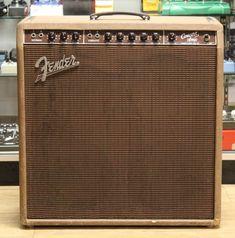 1959 Fender Concert Amp 5G12 w/ original purchase receipt