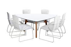 Lima Tafel met Cadiz stoelen