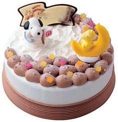 Snoopy's chocolate cake