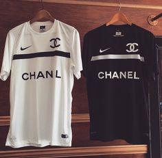 Chanel jersey x Nike