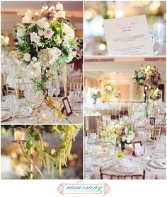 Centerpiece and party favors