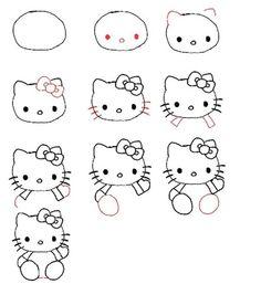 キティちゃんの書き方