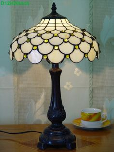 Pearl Tiffany Lamp	12S8-40T587C