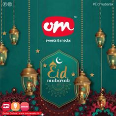 Hope this Eid will bring positivity and prosperity to all the lives. Om sweets wishes everyone a very Happy Eid !!! . . . #omsweetsandsnacks #omsweets #sweetwishes #eidmubarak #celebration #wishes Eid Mubarak, Om Sweets, Happy Eid, Celebration, Positivity, Christmas Ornaments, Holiday Decor, Christmas Jewelry, Christmas Decorations