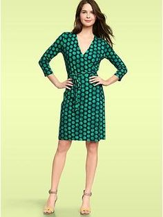 Wrap dress, $64.95 things-i-want