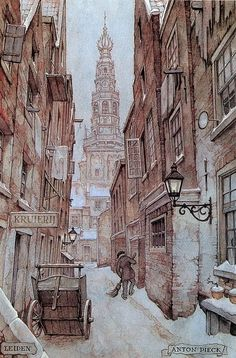 Anton Pieck, Leiden the Netherlands.
