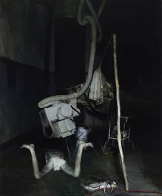 Justin Mortimer  Section 2010 225 x 185 cm  Painting #art #contemporaryart